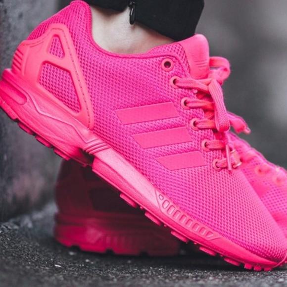 ce0e4b5bf66 Adidas zxflux hot pink (women s sz 37.5